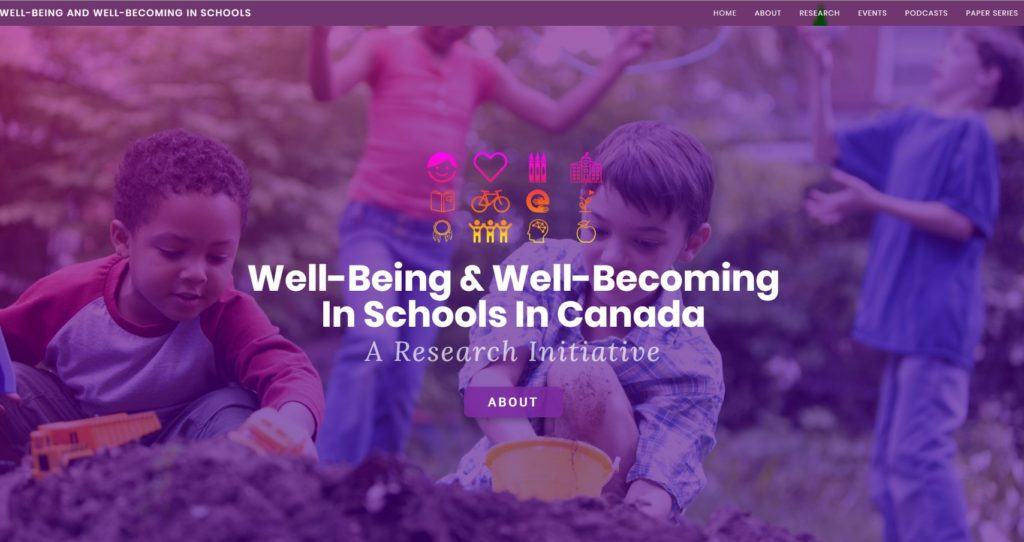 the Well-Being and Well-Becoming in Schools Research Initiative