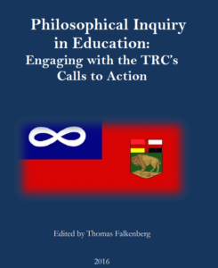 "Philosophical inquiry in education: Engaging with the TRC""s Calls to Action."